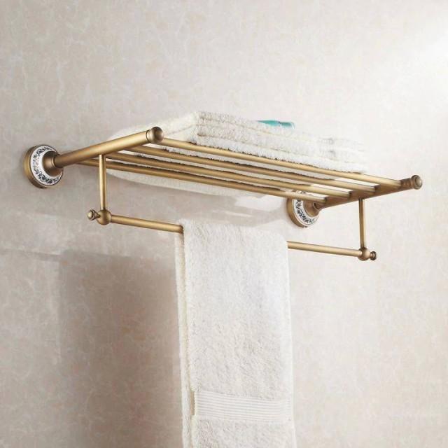 Bath Towel Holder Towel Holder Custom Width 10-60 cm Chrome Brass New