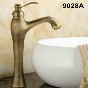 "12"" Antique Brass Faucets Bathroom basin Faucet Kitchen Sink mixer tap 9028A"