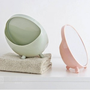 1PC Desktop makeup mirror round vanity mirror student dormitory desktop mirror portable princess mirror wx8291807