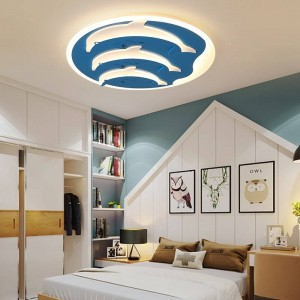 children ceiling lights for children room dimmer or switch control modern ceiling lamp for 10-15square meters plafondlamp