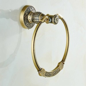 New Euro style Wall-mount Antique Bronze Towel Ring Classic Bathroom Accessories Bath Towel Holder Bath Hardware SL-7804