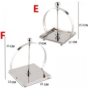 304 Stainless Steel SLIVRE Toilet Paper Holder Bathroom Accessories Kitchen Paper Tissue Holder