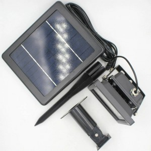3 Combo rechargable solar led flood light Floodlight Lamp Waterproof Solar Light Outdoor Wall Lamp Security Spot Light