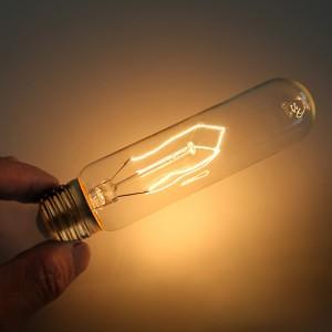 40W E26 Retro Short Electric Baton Edison Bulb 110V Energy Saving Single Light Bulb