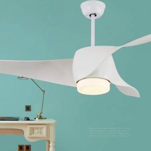 52inch Modern simple dining room fan pendant light remote controlling DC ceiling fan light decorative living room bedroom light