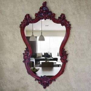 57cmx96cm European round Bathroom Mirror Toilet Mirror Wall Decorative Mirror Special