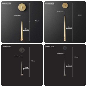 Postmodern Fashion LED Wall Lamp Nordic Wall Light American Simple Living Room Bedroom Bedside Decoration Lamp