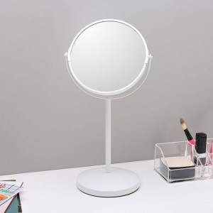 6.5-inch makeup mirror desktop simple Decorative mirror double-sided mirror magnifying dressing table mirror wx8161450