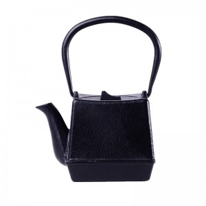 750ml Square Cast Iron Tea pot Set Japanese Teapot Kettle With Metal Net Filter 750ML Kung Fu Tea Infusers Authentic