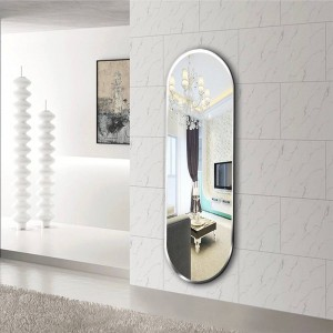 A1 Bathroom mirror wall hanging bathroom bedroom makeup mirror wall hanging explosion-proof mirror wx8221917