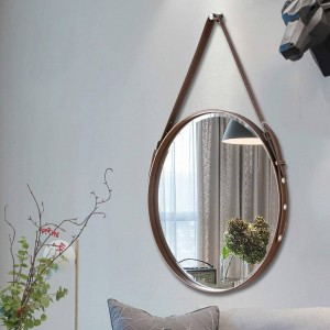 A1 Belt bathroom mirror wall hanging decorative mirror hotel bathroom mirror restaurant wall art round hanging mirror wx8281346
