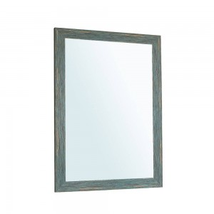 A1 Blue retro bathroom mirror wall hanging living room sanitary toilet makeup mirror wx8221506
