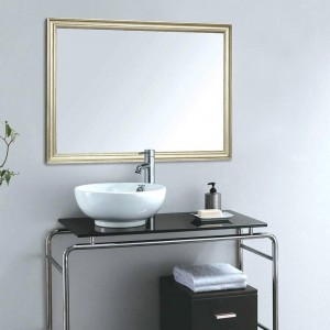 A1 European bathroom mirror narrow border home wall hanging porch living room makeup mirror wx8221449