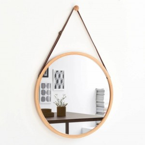 A1 European style round hanging mirror bathroom sink hotel bathroom wall hanging makeup dressing mirror wx8281135