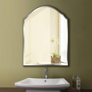 A1 Simple frameless bathroom mirror wall hanging bedroom bathroom toilet makeup dressing wall mirror wx8231035