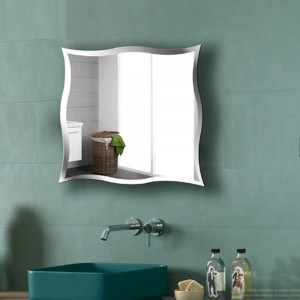 A1 Wall-mounted frameless bathroom mirror personalized toilet dressing mirror wall stickers make up mirror wx8231015