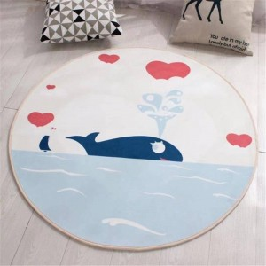 Alfombra Dormitorio Tapete Sala Estar Sofa Tapis De Priere Babyroom Round Kilim Vloerkleed Living Room For Bedroom Floor Rug