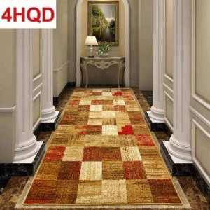 American minimalist living room coffee table carpet modern simple European bedroom bed blanket woven carpet can be customized