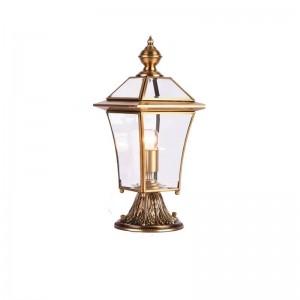 American Style All copper Landscape Lighting Villa garden porch lamp Outdoor yard Grassland Lamp Outdoor Waterproof lighting