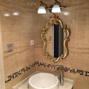 Antique Bathroom Mirror American Bathroom Hygiene Hand Room Toilet Basin Wash Wall Hanging Decoration Living Room Mirror