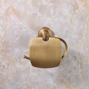 Antique Bronze Finishing Paper Holder/Roll Holder/Tissue Holder Brass Construction Bathroom Accessories High Quality 9051K