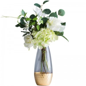 Artificial Flower Vase Decoration Nordic Home Decoration Living Room Decoration Table Bouquet Set