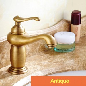 Basin Faucet Brass Chrome Silver Bathroom Sink Faucet Single Handle Deck Bathbasin Toilet Hot and Cold Mixers Water Tap XM-1021