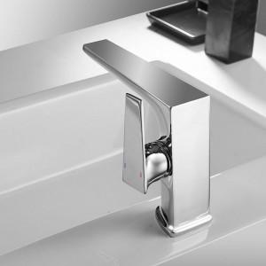 Basin Faucet Black Faucet Taps Bathroom Sink Faucet Single Handle Hole Deck Vintage Wash Hot Cold Mixer Tap Crane 588009