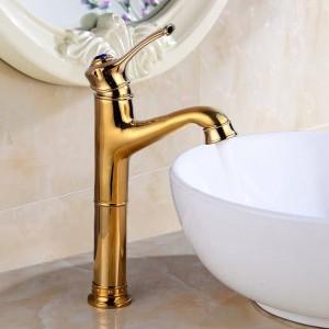 Basin Faucets Black Color Wash Basin Tap Bathroom Faucets Sink Tap Chrome Water Gold Faucet for Bathroom Mixer Crane LAD-18045