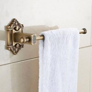 Bath Hardware Sets Antique Toilet Paper Holder Brass Towel Ring Euro Style Roll Holder Tissue Holder for Bathroom 5200
