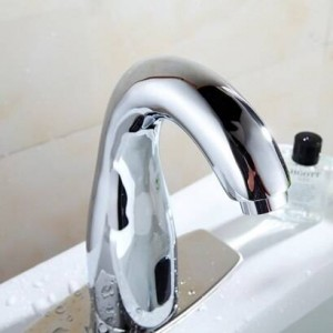 Bathroom Automatic Touch Free Sensor Faucets water saving Inductive electric Water Tap mixer battery power XR8849