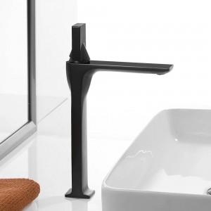 Bathroom Sink Faucet Basin Faucet White painted Faucet Single Handle Hole Deck Vintage Wash Hot Cold Mixer Tap Crane 855003