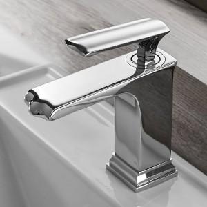 Bathroom Sink Faucet Grifo Bano Basin Faucet Black Faucet Taps Single Handle Hole Bath Hot Cold Mixer Tap Crane