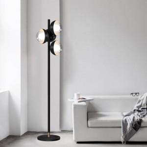 LED Floor lamps Modern standing light for Living Room Floor Hotel Bedside Floor Lamp 4PCS G9 LED bulb
