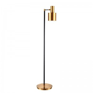 retro industrial Floor Lamp creative LED Floor Light brass color standing Lamp Living Room Bedroom two year Guaranteed