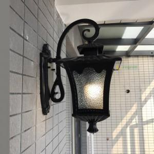 Black Waterproof Outdoor Wall Light rustic Sconce Wall Lights Courtyard Lamp Balcony corridor Outdoor Lighting Fixture