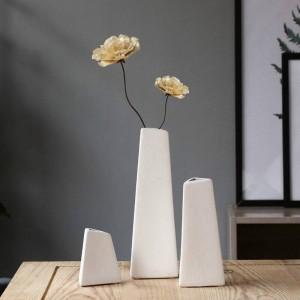 Ceramic Vase Simple Modern Dry Flower Starry Flower Home Living Room Flower Arrangement