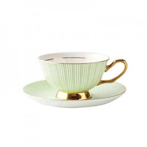 Ceramics European Royal Bone Coffee And Tea Cup Coffee Cups And Saucers Drinkware Cup Set Drop Shipping