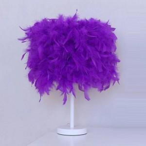 Bedroom Girl Wedding Wedding Cabeceira Lamp Lampara El Dormitorio De Mesa Abajur Para Quarto Deco Home Table Lamp