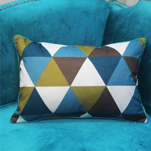Chic Geometry Cushion Cover Luxury Edge Design Cojines Decorativos Para Sofa Christmas Car Cover Throw Pillows Case Home Gifts