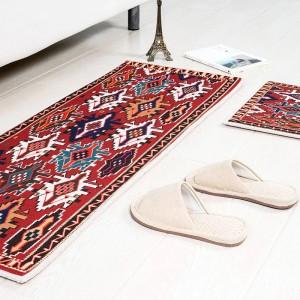 Style Cottage Square Cushion Kitchen Door Pad Bathroom Non-slip Remove dust Door MATCoffee Table Carpet Bedding mats
