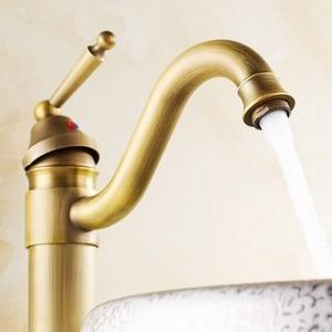 Commercial antique copper faucet 8020