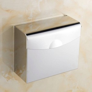 Copper/ Stainless steel Paper Holder Wall Mounted Bathroom Accessories hardwares 7010