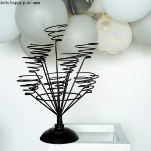 Creative Macaron display stand Home Decorations wedding festival Arrange Cup cake rack Wire frame cristmas decoration