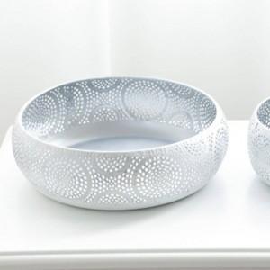 Creative Nordic Style Fruit Basket Living Room Creative Fruit Drain Basket Home Iron Fruit Snacks Bowl Storage Basket