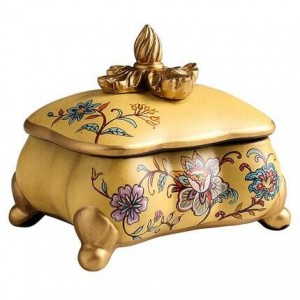 Creative Jewelry Storage Decorative Box Home Living Room Decorations Display Birthday Gift