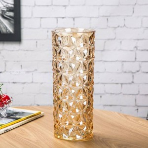 Crystal Glass Vase European Large Vase Home Decoration Ornaments