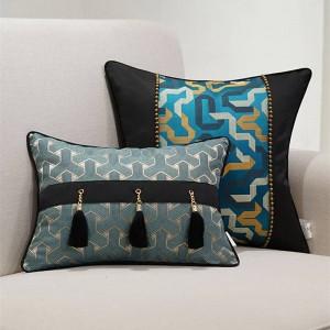 Cushion Cover Luxury Cojines Decorativos Para Sofa Stripe Pillow Cover Funda Cojin Royal Pillows Kussenhoes Housse De Coussin