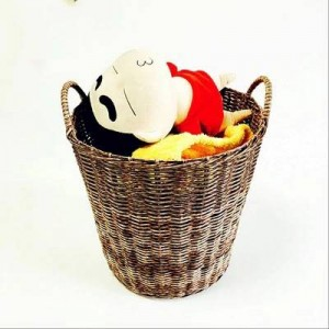 Dirty clothes basket dirty clothes storage basket laundry basket rattan basket toy storage box