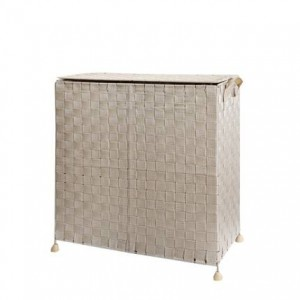 Environmentally Friendly Hand-Woven Dirty Clothes Storage Basket Bin Household With Lid Collapsible Hamper Laundry